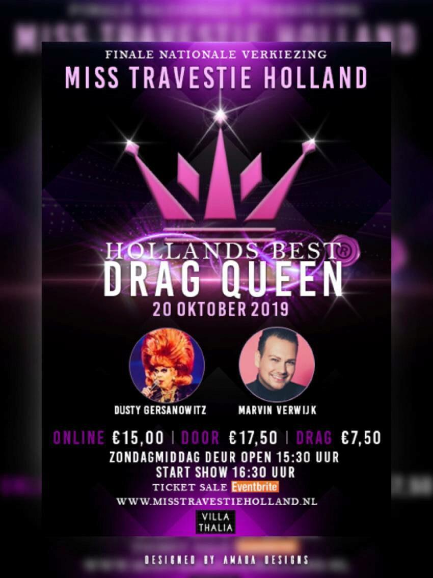 Miss Travestie Holland 2019