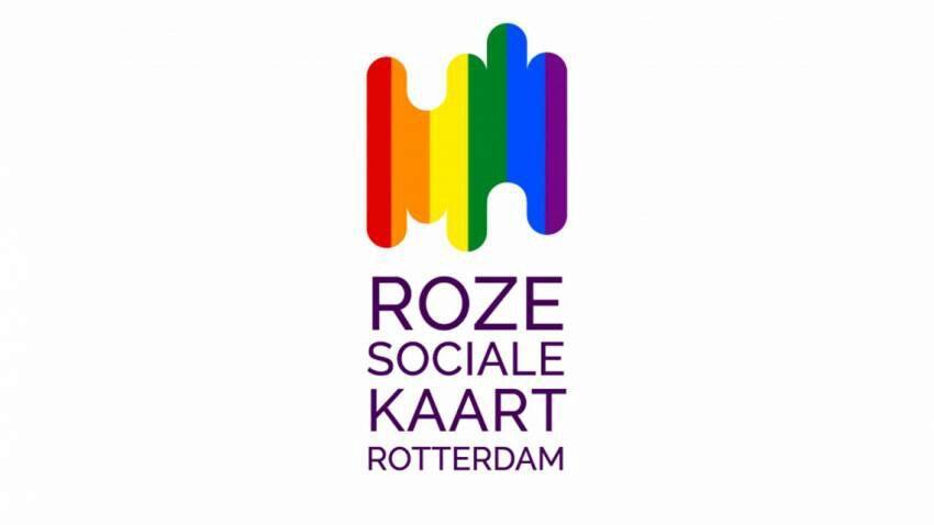 Roze Sociale Kaart Rotterdam