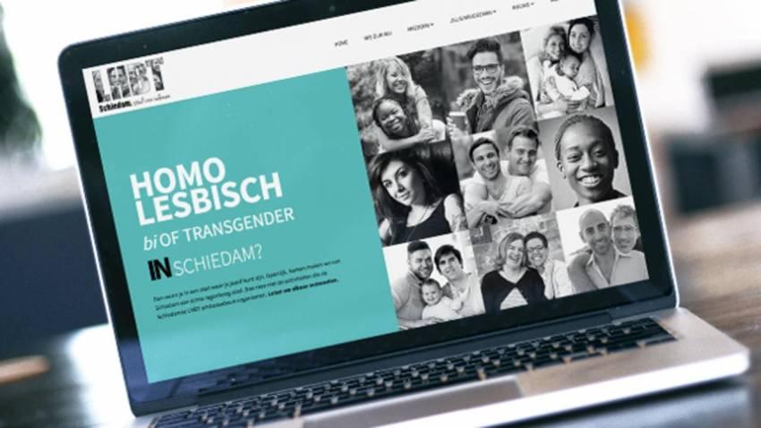 Schiedam heeft eigen 'roze' website