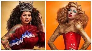 Viewing Holland Dragrace Dinner Party met Ma'MaQueen en Megan Schoonbrood