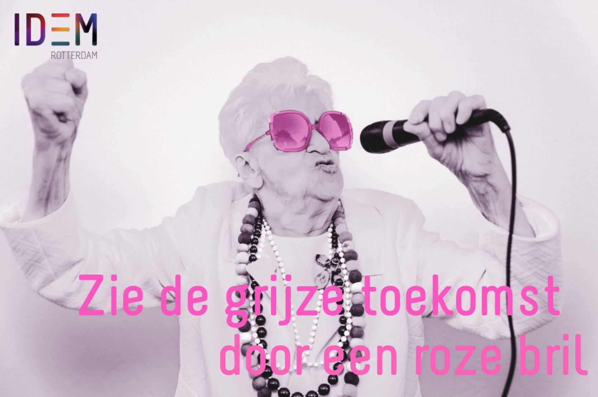 IDEM Kennisatelier over inclusie van LHBTIQ+-ouderen