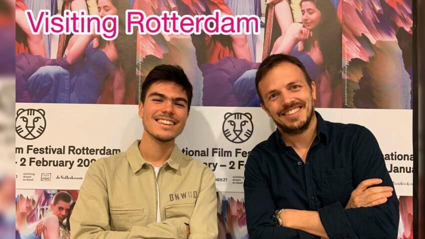 Visiting Rotterdam: Marco Berger & Juan Pablo Cestaro