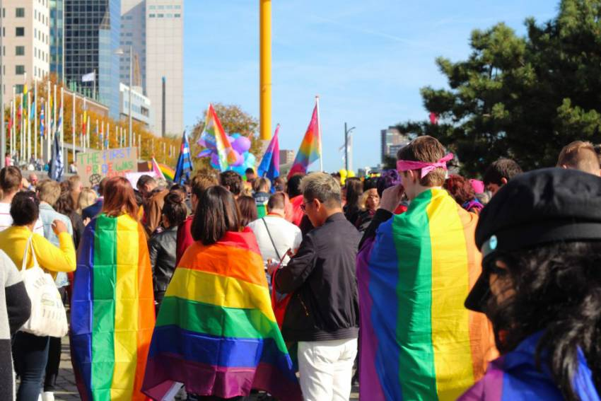 PRIDE MARCH ROTTERDAM: PROUD TOGETHER
