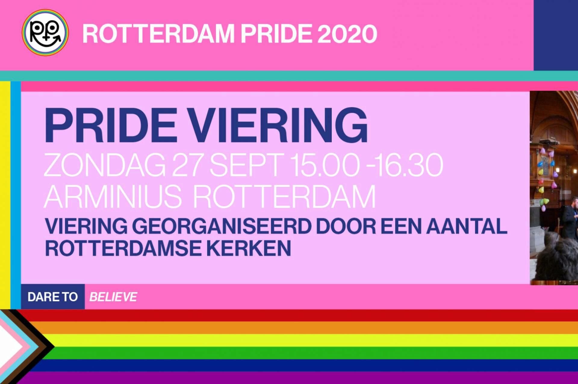 Rotterdam Pride Viering 2020