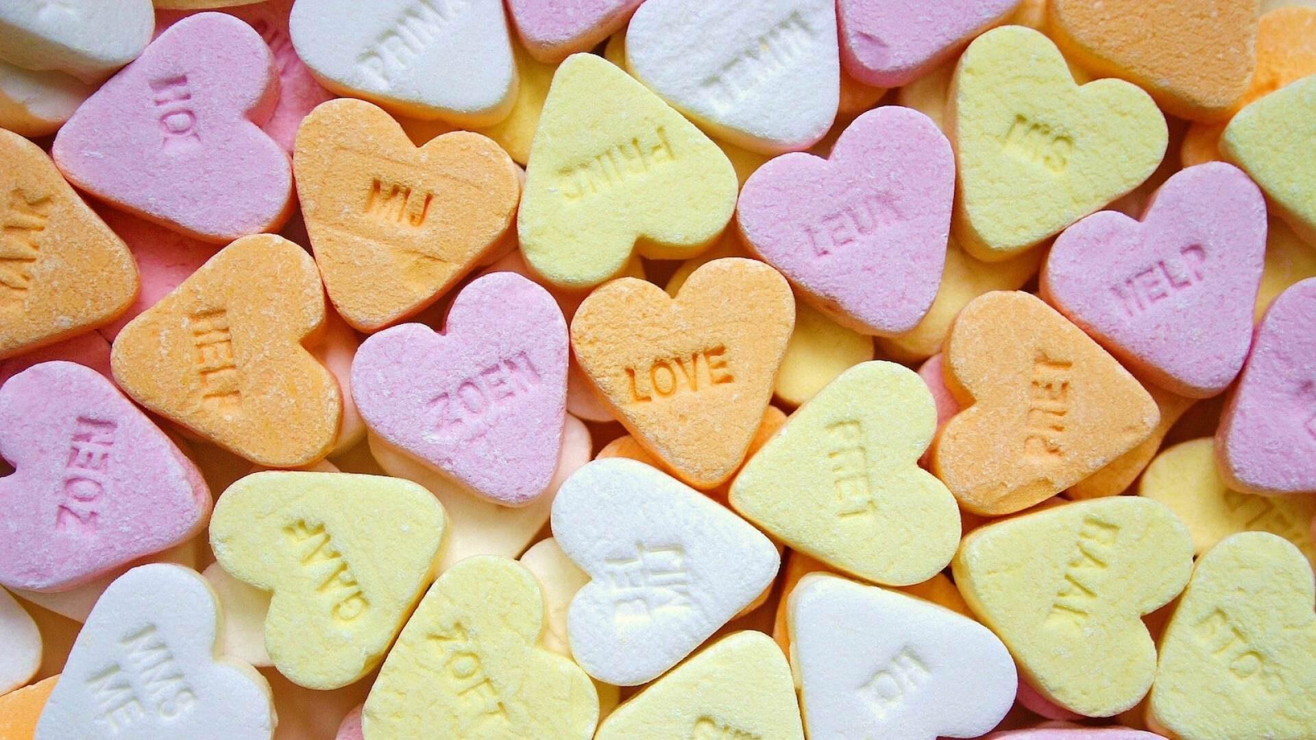 Roze Valentijnsviering