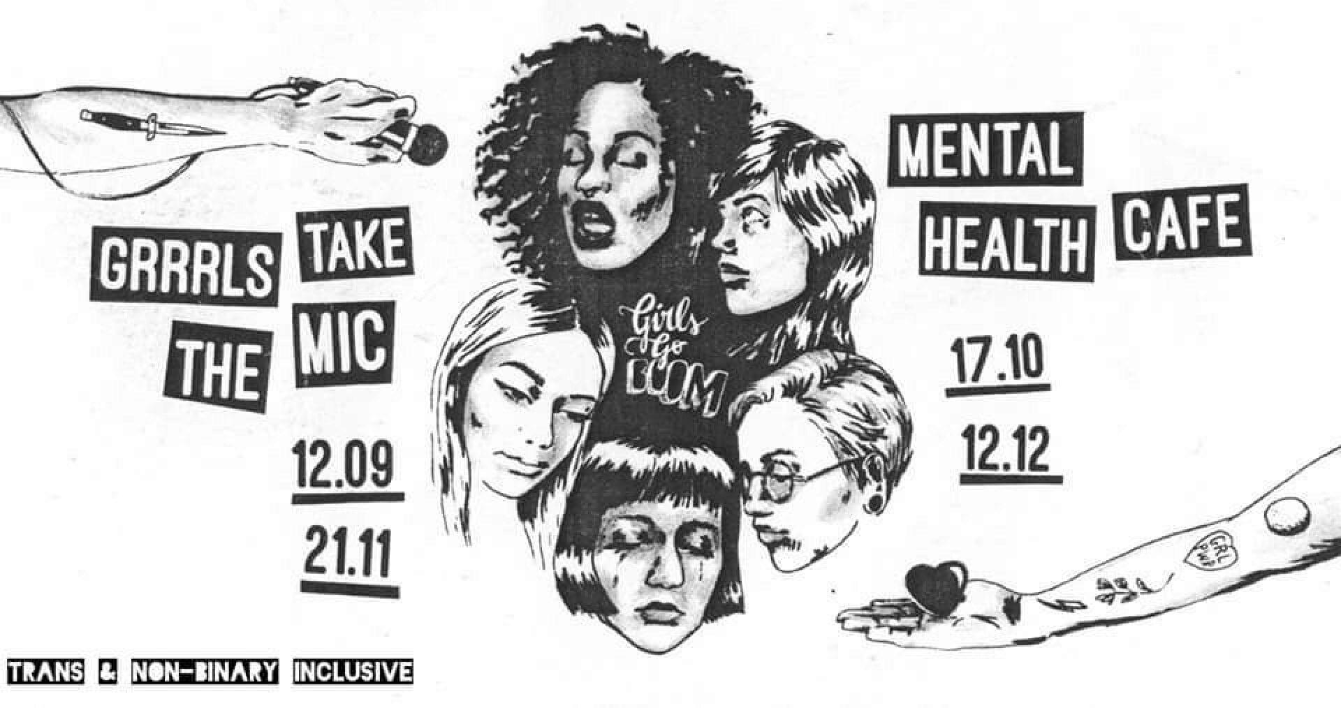 Girls go BOOM: Mental Health Café #2