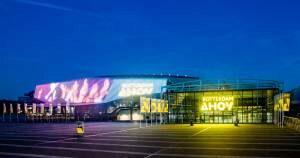 In brilliant colors, Rotterdam's AHOY arena, will be the main stage for this year's Eurovision Song Contest.