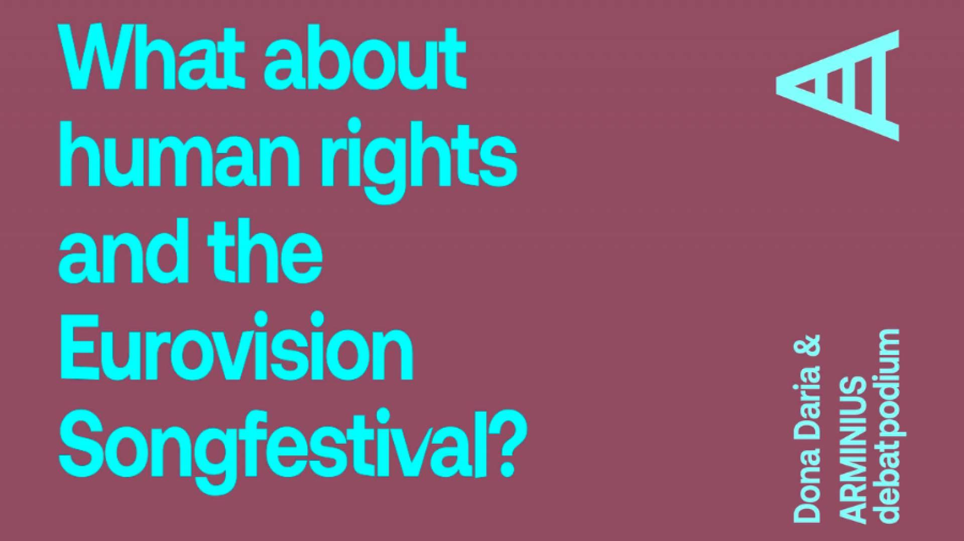 Songfestival: Open Up to Human Rights