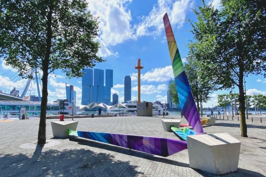 Rewind - het monument voor de LHBTi+ gemeenschap