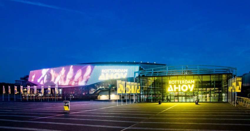 Open up, Rotterdam, hier komt het Eurovisie Songfestival