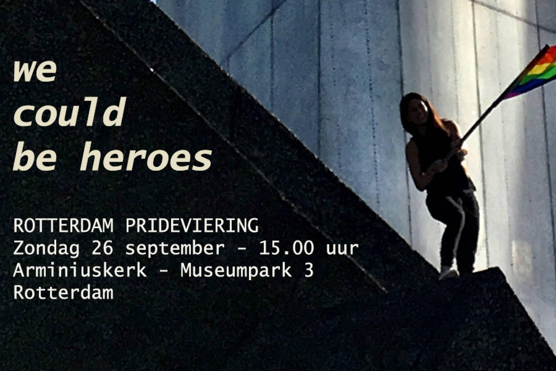 Roze Viering Rotterdam Pride 2021