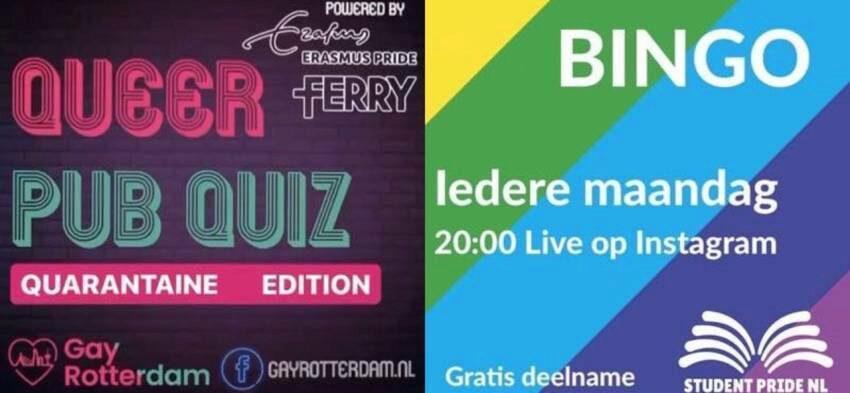 Queer Pub Quiz gaat online door en krijgt gezelschap