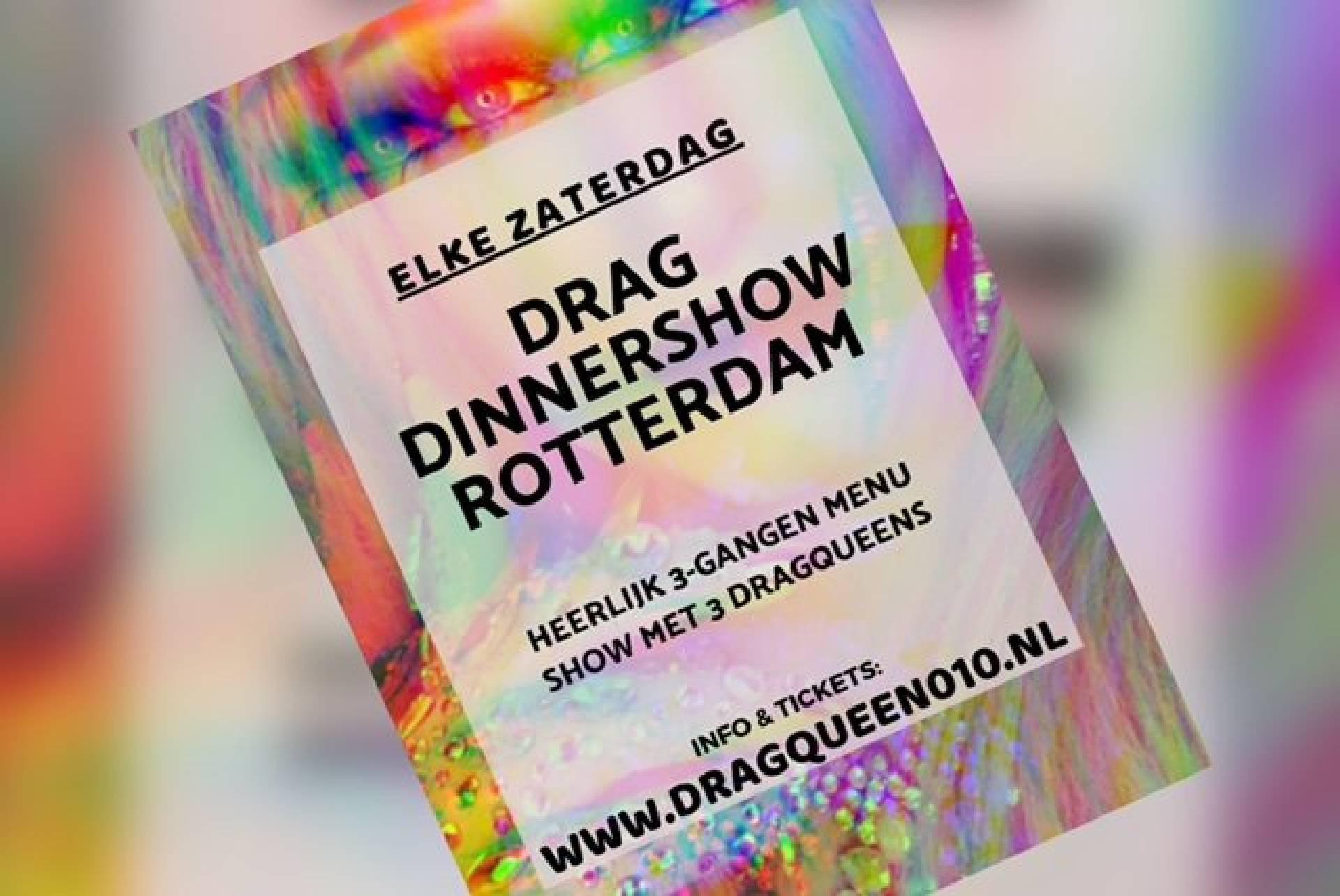 Pride Editie! Drag Dinner Show Rotterdam