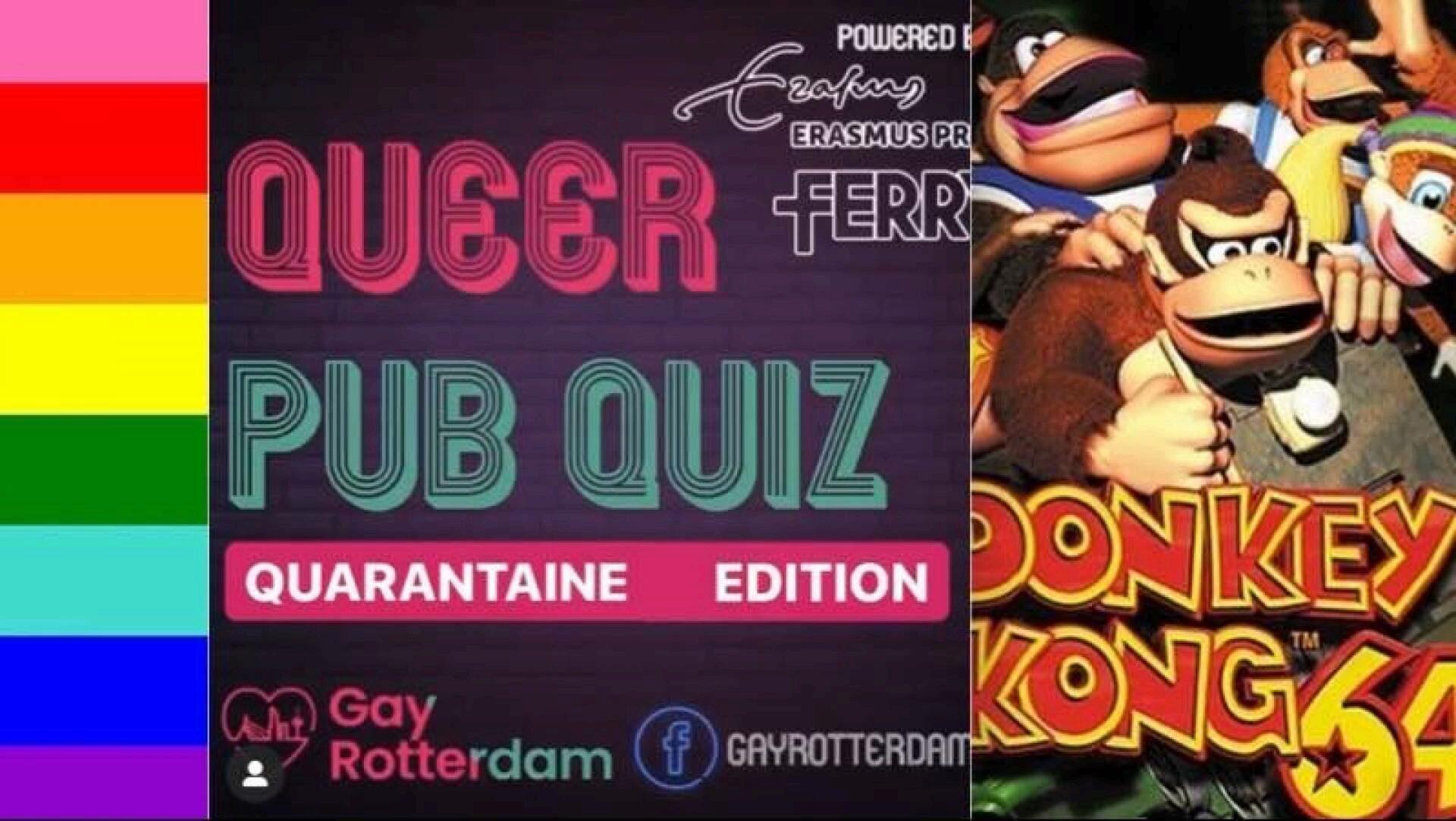 ONLINE Queerantaine Pub Quiz #6